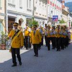 Prozession durch die Herrengasse (© Herr Mag. Bernhard Wagner).