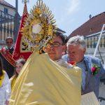 Abschließender Eucharistischer Segen (© Herr Mag. Bernhard Wagner).