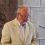 Herr Fritz Richter trägt die 1. Lesung vor ... (© Herr Mag. Bernhard Wagner)