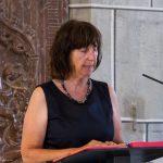 ... und Pastoralassistentin Frau Monika Wuggenig nach dem Zwischengesang die 2. Lesung (© Herr Mag. Bernhard Wagner).