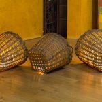 Leuchtkörbe im Altarbereich (© Herr Mag. Bernhard Wagner).