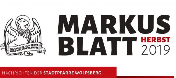 Markusblatt Herbst 2019
